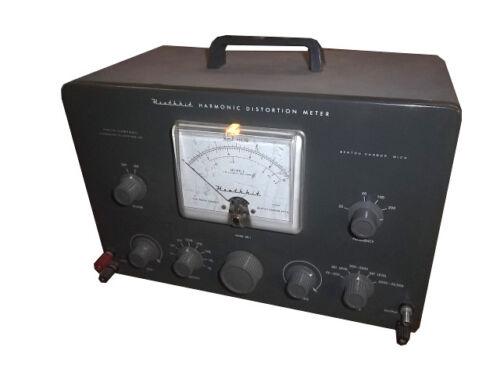 Heathkit HD-1, Harmonic Distortion Meter