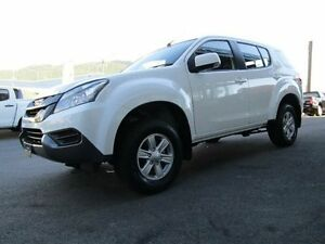 2016 Isuzu MU-X MY15.5 LS-M Rev-Tronic White 5 Speed Sports Automatic Wagon Earlville Cairns City Preview