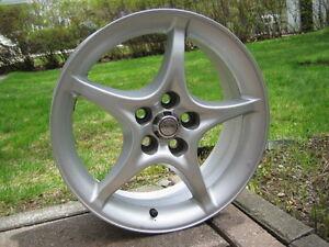 "4x Toyota Celica GT-S ""5-Spoke Star"" Mag Wheels (5X100mm)"