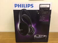 Philips SHD8600UG Headband Wireless Headphones - Black