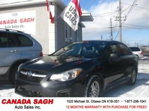 2012 SUBARU IMPREZA 2.0i NEWER BODY STYLE, 12M.WRTY+SAFETY 5990