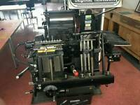 ORIGINAL Heidelberg T Platen Printing Press (Letterpress)