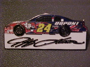 Jeff Gordon #24 CAR Nascar Pin London Ontario image 1