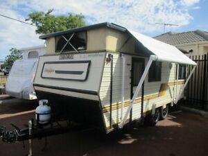 1988 Coromal Lowline Caravan St James Victoria Park Area Preview