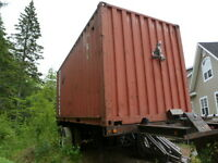 20 Foot Used Sea Container $ 2500.00  - Trailer For Sale Also!!
