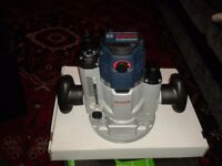 GOF/ GKF 1600 CE BOSCH Plunge Router UNUSED with CARRY CASSE and NEW ACCESSORIES