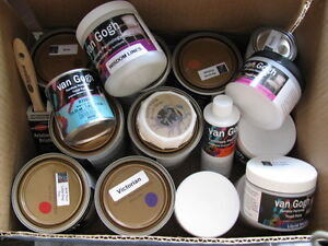 Furnature Refinishing Paint and Supplies