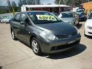 2009 Nissan Tiida C11 MY07 ST Grey 4 Speed Automatic Sedan Holroyd Parramatta Area Preview