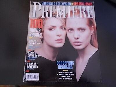 Angelina Jolie  Winona Ryder   Premiere Magazine 1999