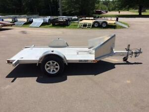 "USED 2015 EVERLITE 51"" x 10' MOTORCYCLE TRAILER"
