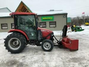 2011 CASE FARMALL 45 CVT TRACTOR - WITH LOADER AND BLOWER!