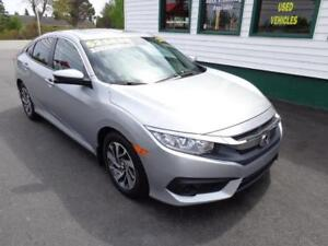 2017 Honda Civic Sedan EX for only $185 bi-weekly all in!