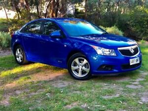 2011 Holden Cruze JH Series II MY12 CD Blue 6 Speed Manual Sedan Reynella Morphett Vale Area Preview