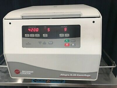 Beckman Coulter Allegra X-30 Centrifuge Sx4400 Rotor