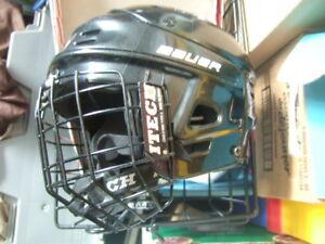 good condition junior Bauer skate Hockey Helmet,8527