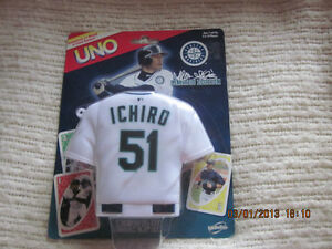 NEW Collectible Limited Edition MLB Ichiro Uno Cards