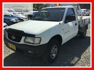 2002 Holden Rodeo TF LX White 5 Speed Manual Cab Chassis Jewells Lake Macquarie Area Preview