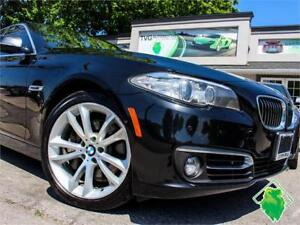 '14 BMW 535i xDrive+Nav+360Cam+HeatSeats/Wheel+HKAudio! $184/Pmt