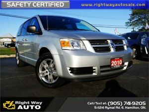 2010 Dodge Grand Caravan SE | MINT | SAFETY CERTIFIED