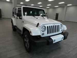 2016 Jeep Wrangler Unlimited Sahara, $272bw, Perfect for Winter!