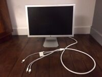 Apple Cinema Display with power pack and adapter / can be sold separately