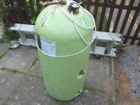 Indirect Hot Water Cylinder with Immersion Heater