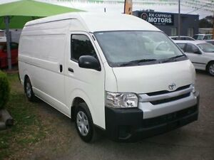 2014 Toyota Hiace KDH221R MY14 SLWB White 4 Speed Automatic Van Heatherbrae Port Stephens Area Preview