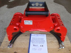 Neuer Abbruch- Sortier- Mehrzweck- Greifer - 1,4- 3,0 to Minibagger MS01 MS03