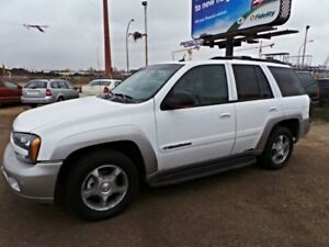 2004 Chevrolet TRAILBLAZER 4WD LT For Sale Edmonton