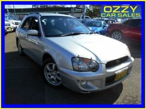 2005 Subaru Impreza MY05 RS (AWD) Silver 5 Speed Manual Hatchback