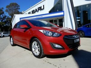 2014 Hyundai i30 GD2 MY14 Trophy Red 6 Speed Sports Automatic Hatchback Glendale Lake Macquarie Area Preview