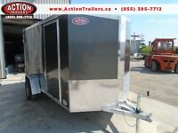ALL ALUMINUM ENCLOSED CARGO TRAILER 6 X 12 - NEO 2016 MODEL