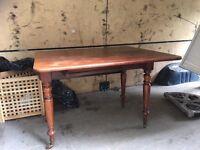 Vintage Dining table ,Drop leaf. £65 ono CAN DELIVER