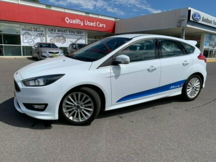 2017 Ford Focus LZ Sport Frozen White 6 Speed Automatic Hatchback Goulburn Goulburn City Preview