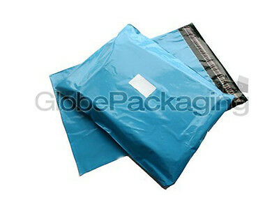 10 x Baby Blue STRONG Postal Mailing Bags - 12 x 16
