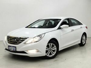 2010 Hyundai i45 YF MY11 Active White 6 Speed Sports Automatic Sedan Edgewater Joondalup Area Preview