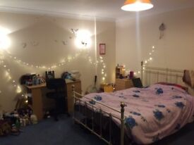 Large Double room, only 5 mins walk to Ashford Station, in clean town house share, quite location,