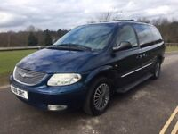 Chrysler Grand Voyager limited edition automatic 7 seats