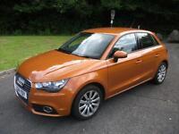 AUDI A1 1.2 SPORTBACK TFSI SPORT 5d 86 BHP (orange) 2014