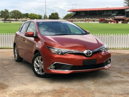 2017 Toyota Corolla ZRE182R Ascent Sport S-CVT Orange 7 Speed Constant Variable Hatchback Prospect Prospect Area Preview
