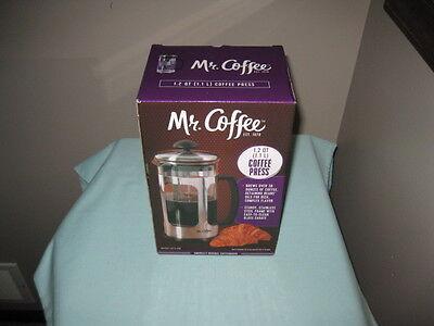 Французская пресса MR. COFFEE 1.2 QT.