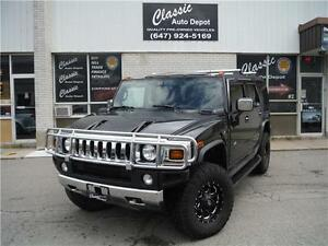 2005 HUMMER H2 SUV**CERTIFIED**LOW KMS**NAVI**SUNROOF**