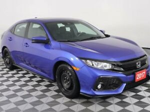 2017 Honda Civic Hatchback Sport w/Honda Sensing-No Accidents-Ba