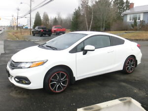 2014 Honda Civic LX 2 dr Coupe Std shift