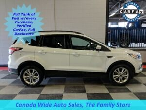 2018 Ford Escape AWD, SEL, Leather, Sunroof, Navigation, Safety