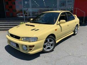 2000 Subaru Impreza N WRX Club Spec Evo IV Sedan 4dr Man 5sp AWD 2.0T [MY00] Yellow Manual Sedan