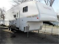 2008 FLEETWOOD WILDRNESS 5TH WHEEL 27 FT TRAVEL TRAILER $16500