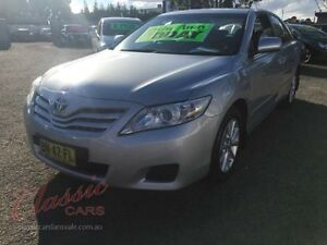 2011 Toyota Camry ACV40R 09 Upgrade Altise Silver 5 Speed Automatic Sedan Lansvale Liverpool Area Preview