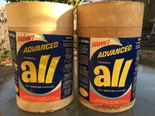Vintage ALL Laundry Soap/Detergent Container - Single