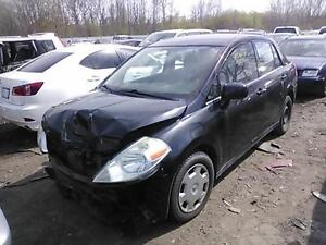 2009 Nissan Versa S Sedan for PARTS ONLY!